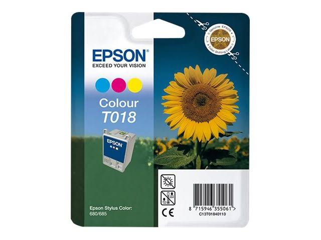 Tinta EPSON T018 Color
