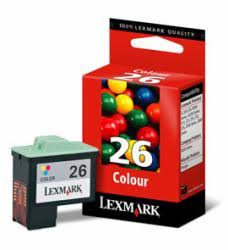 Tinta LEXMARK 26 Color