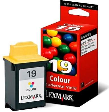 Tinta LEXMARK 19 Color