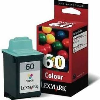 Tinta LEXMARK 60 Color