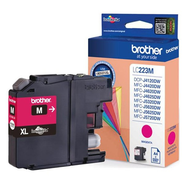 Tinta BROTHER LC223MBP Magenta