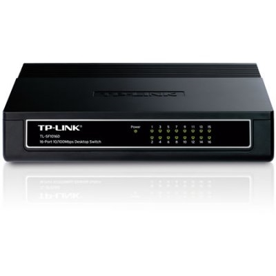 Switch 16p TP-LINK 10/100Mbps