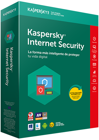 Antivirus KASPERSKY Internet Security - Licencia 5 Usuarios [2018]