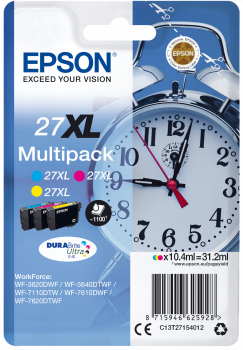 Tinta MultiPACK EPSON Color 27XL