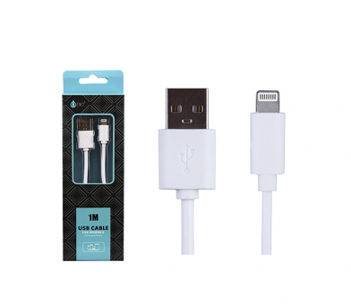 Cable USB A - Lightning IPHONE 5/6/7/8 M-M 1m AA101