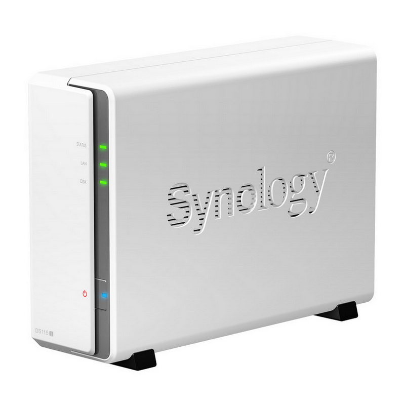 Servidor NAS SYNOLOGY DS115j + 2TB WD NAS WD20EFRX