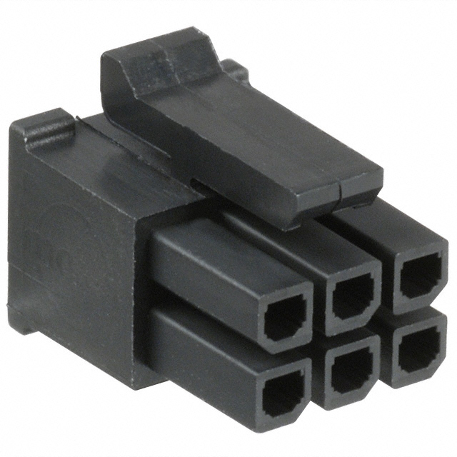 Conector Micro-Fit6 macho