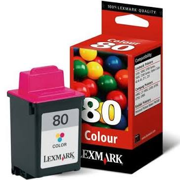 Tinta Color LEXMARK 80