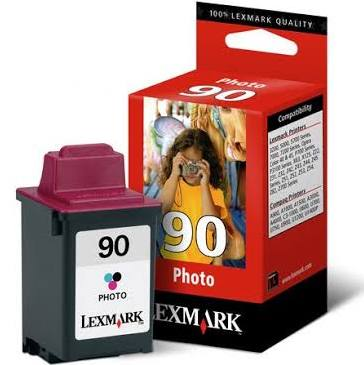 Tinta Color LEXMARK 90 Photo